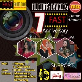 Fast Photo Club Biro Semarang Merayakan Hari Jadinya Yang ke 7th