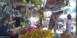 Sambut Dugderan Sejumlah Pedagang Mulai Padati Sekitar Pasar Johar