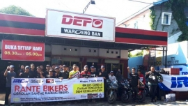 Komunitas Motor Sport 250 cc Gelar Rante Bikers, Peserta Jadi Tahu Cara Aman Berkendara
