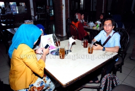 Kunjungan Liputan VisitJateng ke Soto Ayam Bangkong Srondol Banyumanik Semarang